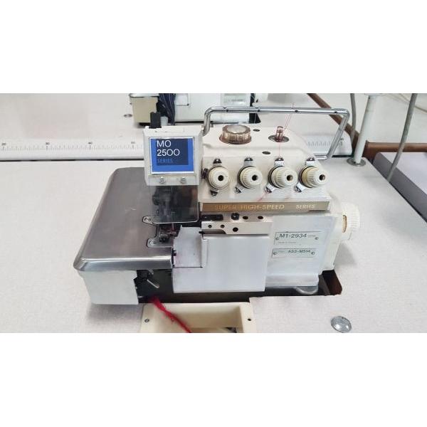 Juki MO2500 4 szálas  interlock