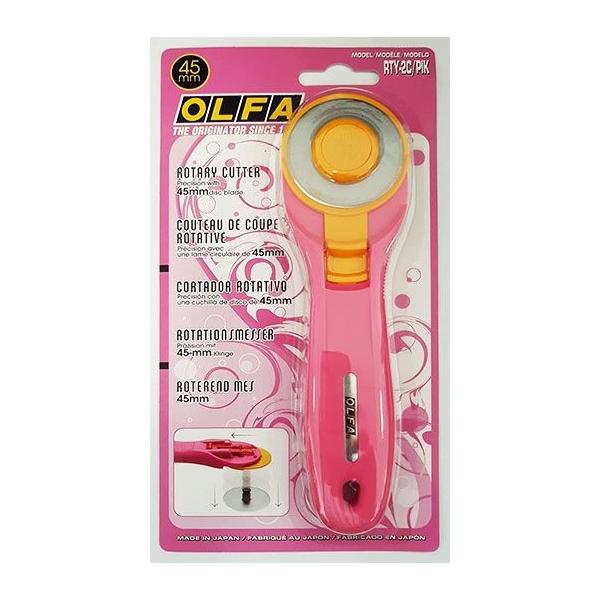OLFA RTY-2C pink görgős körvágó 45mm