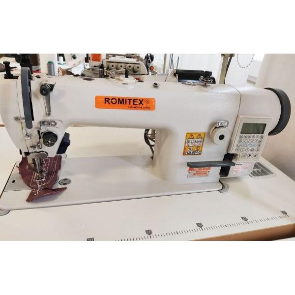 ROMITEX HL-303-D4 vastagárus lépegetős varrógép - AKCIÓ!