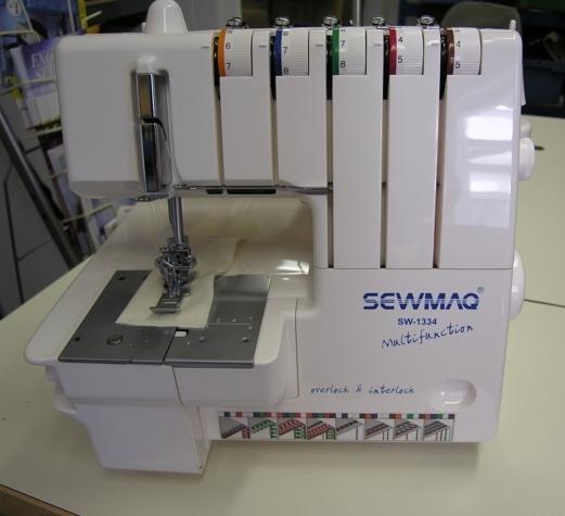 Romitex SW1334 interlock és fedőzőgép egyben