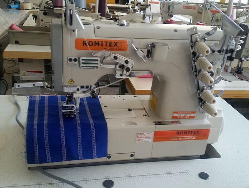 Romitex HL-F007J-D fedőzőgép - AKCIÓS!