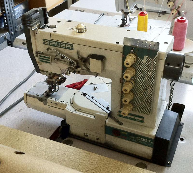Siruba C007 fedőzőgép - használt